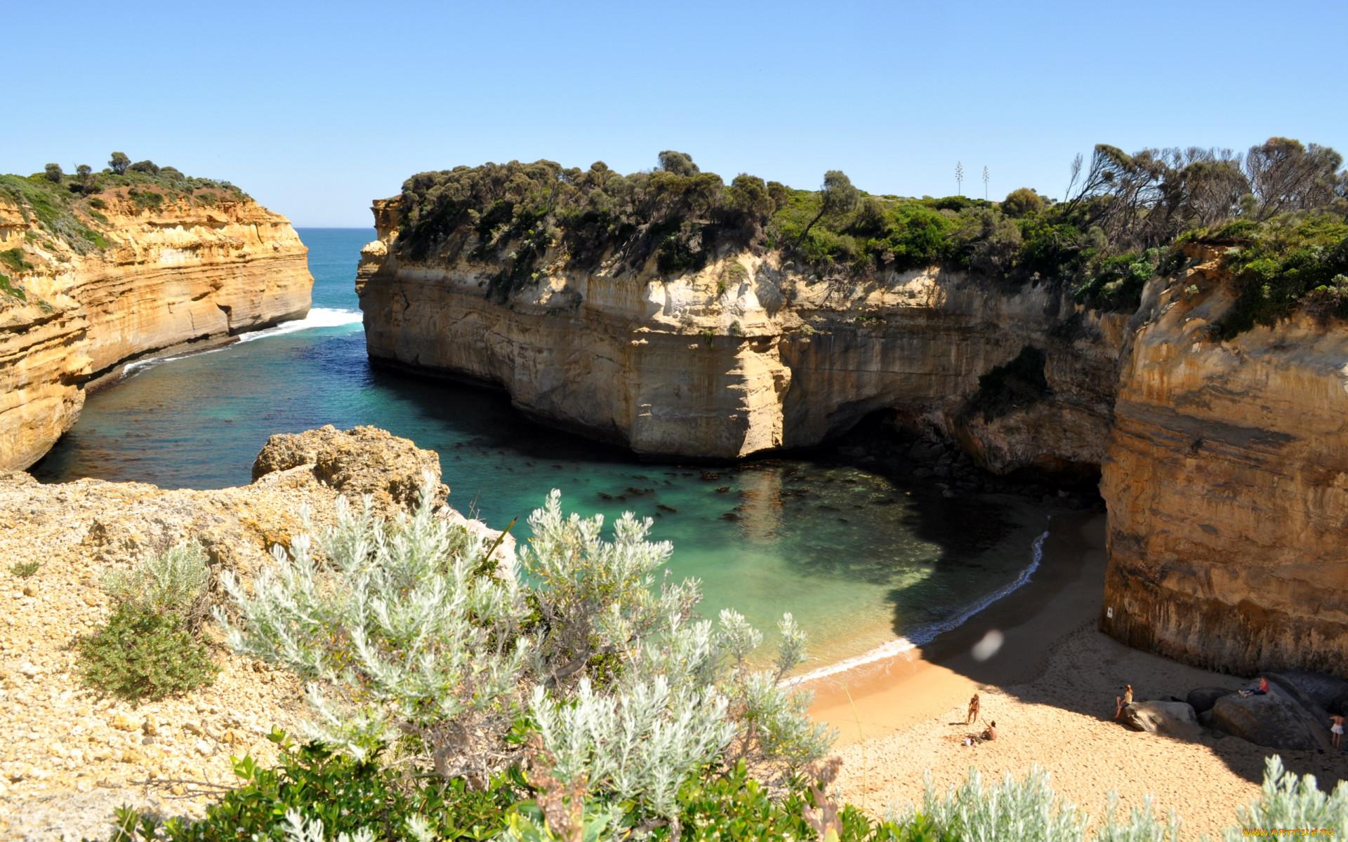 Ард австралия природа побережье обои